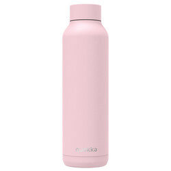 BOTELLA ACERO INOXIDABLE SOLID QUARTZ PINK POWDER