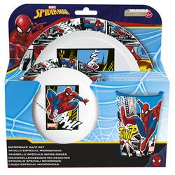 VAJILLA MICRO 3 PCS SPIDERMAN STREETS