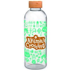 BOTELLA CRISTAL ANIMAL CROSSING