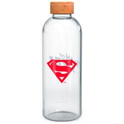 BOTELLA CRISTAL SUPERMAN SYMBOL