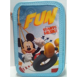 PLUMIER 3 CREMALLERAS MICKEY MOUSE
