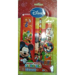 KIT PAPELERIA 6 PCS MICKEY MOUSE
