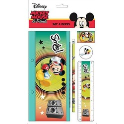 SET PAPELERIA 5 PCS. MICKEY MOUSE