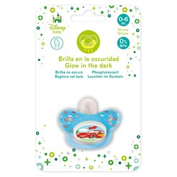 CHUPETE TETINA SILICONA 0-6M. CARS BABY