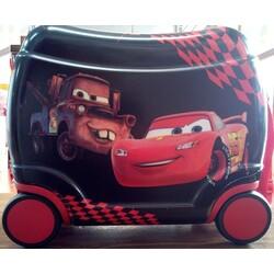 MALETA INFANTIL 4 RUEDAS CARS