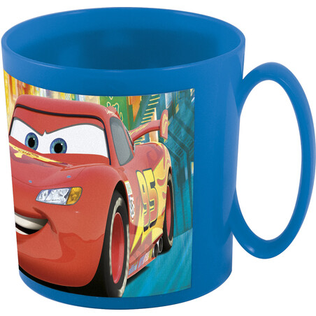 TAZA MICRO 36 cl. CARS NEÓN RACERS CUP