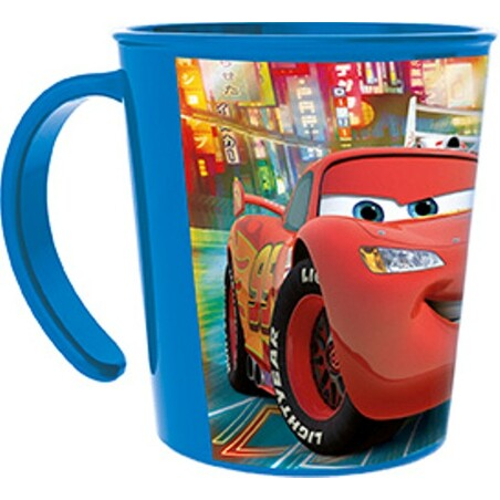 TAZA APILABLE 28cl. CARS NEÓN RACERS CUP