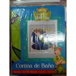 CORTINA BAÑO 180*180cm PETER PAN
