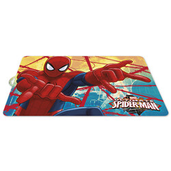 MANTEL INDIVIDUAL SPIDERMAN RED WEBS
