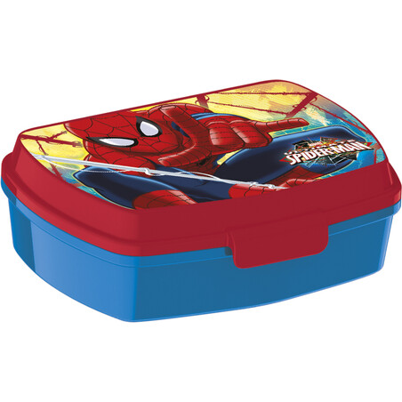 SANDWICHERA RECT. SPIDERMAN RED WEBS