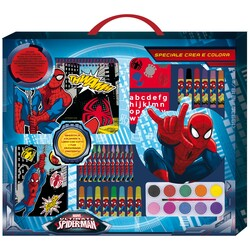 SET COLORERAR GIGANTE 55CM SPIDERMAN