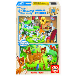 PUZZLE 2*25 ANIMAL FRIENDS