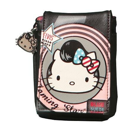FUNDA MOVIL GIFT NEGRA ELVIS`HELLO KITTY