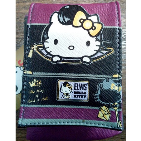 FUNDA MOVIL FASHION VIOLETA HELLO KITTY