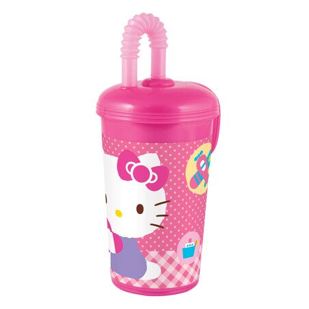 VASO CAÑA HELLO KITTY