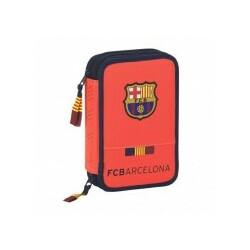 PLUMIER DOBLE 34 PCS. FC BARCELONA