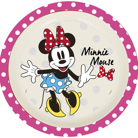 PLATO BAMBÚ MINNIE MOUSE