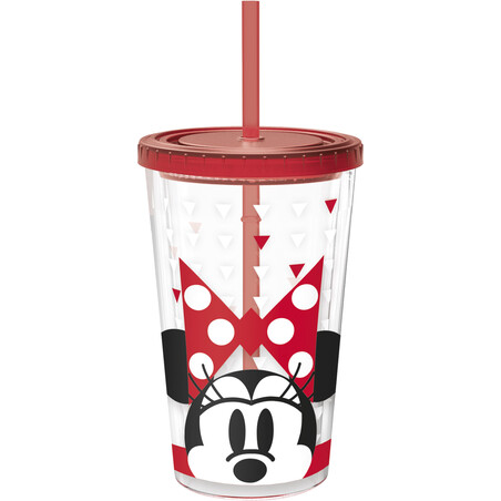 VASO DOBLE PARED 473ml. MINNIE ADULT