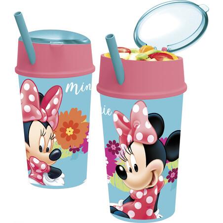 VASO SNACK 400ML MINNIE BLOOM