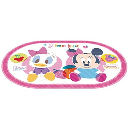 MANTEL INDIVIDUAL OVAL ROSA MINNIE BABY