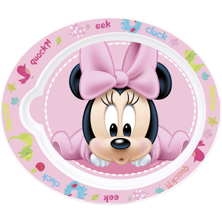 PLATO PP OVAL MINNIE BABY PAINT POT