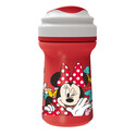 VASO TODDLER CON TAPA 310ML MINNIE
