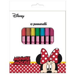 12 ROTULADORES MINNIE MOUSE