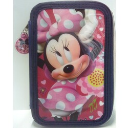 PLUMIER 3 CREMALLERAS MINNIE MOUSE