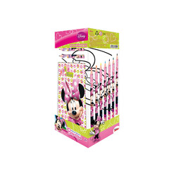 CAJA TRANSPARENTE 25 PCS MINNIE MOUSE