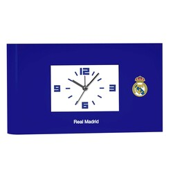 DESPERTADOR RECTANGULAR REAL MADRID