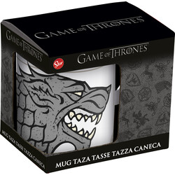 TAZA CERÁMICA C/CAJA 325ML GAME OF THRONES