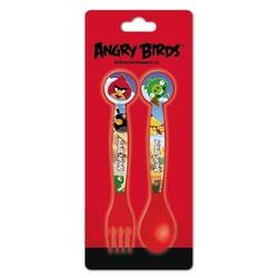 SET CUBIERTOS PP ANGRY BIRDS