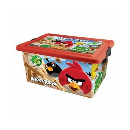 CONTENEDOR 13 L. ANGRY BIRDS