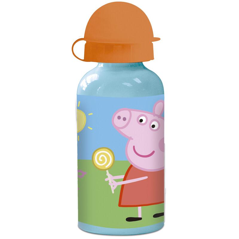 BOTELLA ALUMINIO PEPPA PIG
