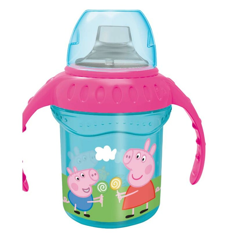 TAZA ENTRENAMIENTO 330 ml. PEPPA PIG