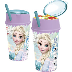 VASO SNACK 400ML FROZEN FLORAL