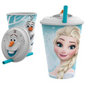 VASO 3D C/PAJITA FROZEN OLAF