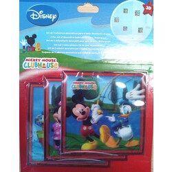 PACK 4 IMANES LENTICULARES MICKEY