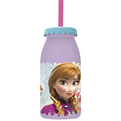 BOTELLA LECHE 300ML FROZEN FLORAL