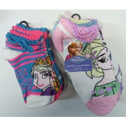 6 PARES CALCETINES FROZEN