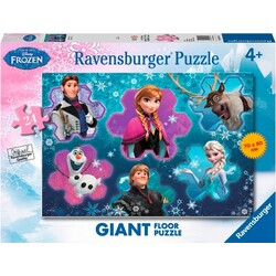 PUZZLE 24 GIANT FROZEN