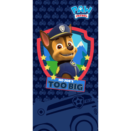 TOALLA 70*140 TOO BIG PAW PATROL