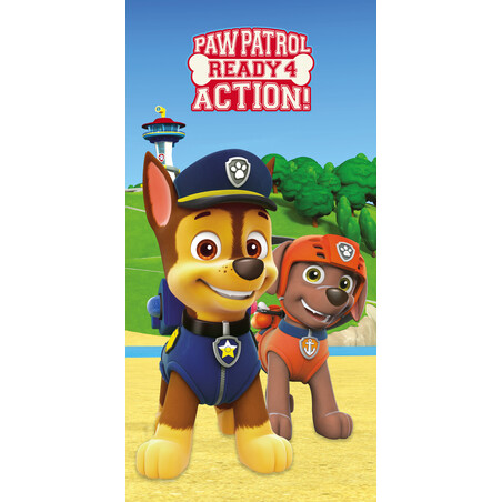 TOALLA 140*70 READY ACTION PAW PATROL