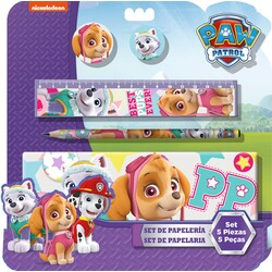 SET PAPELERIA 5PCS SKYE