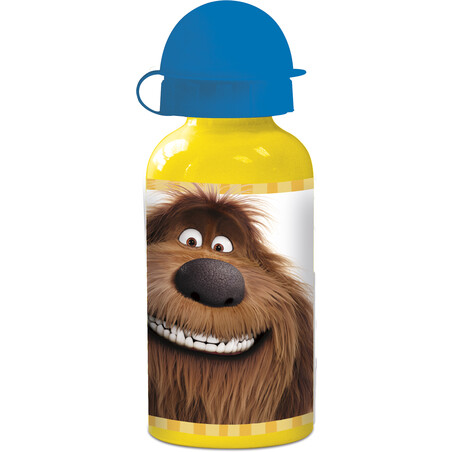 BOTELLA ALUMINIO 400ml. THE SECRET LIFE OF PETS