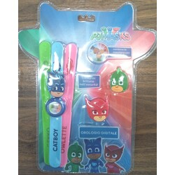 RELOJ DIGITAL 3 CORREAS PJ MASKS