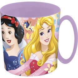 TAZA MICRO 350 ML. PRINCESS FOREVER