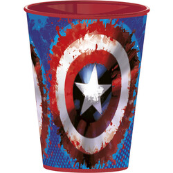 VASO EASY PEQUEÑO 260 ML. CAPTAIN AMERICA ICON