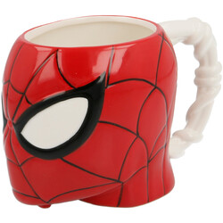 TAZA CERAMICA 3D 410 ML. CABEZA SPIDERMAN