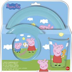 SET EASY 3 PCS PEPPA PIG